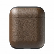 Nomad Leather Case for Apple Airpods (rustic brown) 1