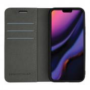 Case FortyFour No.11 Case - кожен калъф с поставка за iPhone 11 Pro Max (сив) 1