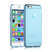 4smarts Soft Cover Invisible Slim for iPhone 8, iPhone 7, iPhone 6S, iPhone 6 (blue)