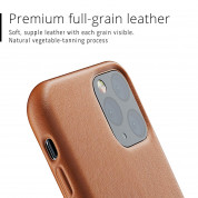 Mujjo Full Leather Case for iPhone 11 Pro (brown) 5
