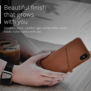 Mujjo Full Leather Case for iPhone 11 Pro (brown) 3