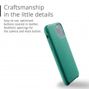 Mujjo Full Leather Case for iPhone 11 Pro (alpine green) 2