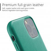 Mujjo Full Leather Case for iPhone 11 Pro (alpine green) 3