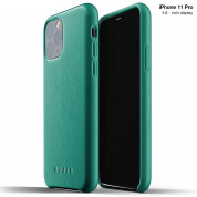 Mujjo Full Leather Case for iPhone 11 Pro (alpine green)