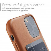 Mujjo Leather Wallet Case for iPhone 11 Pro (tan) 5