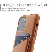 Mujjo Leather Wallet Case for iPhone 11 Pro (tan) 3