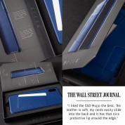 Mujjo Leather Wallet Case - кожен (естествена кожа) кейс с джоб за кредитна карта за iPhone 11 Pro (черен) 6