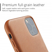 Mujjo Full Leather Case for iPhone 11 Pro Max (brown) 1