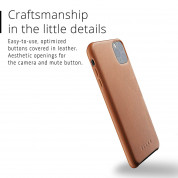 Mujjo Full Leather Case for iPhone 11 Pro Max (brown) 4