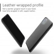 Mujjo Full Leather Case - кожен (естествена кожа) кейс за iPhone 11 Pro Max (черен) 4