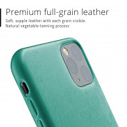 Mujjo Full Leather Case for iPhone 11 Pro Max (alpine green) 2