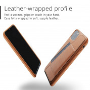 Mujjo Leather Wallet Case for iPhone 11 Pro Max (tan) 2