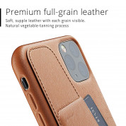 Mujjo Leather Wallet Case for iPhone 11 Pro Max (tan) 4