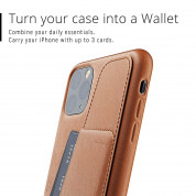Mujjo Leather Wallet Case for iPhone 11 Pro Max (tan) 5