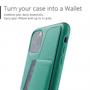 Mujjo Leather Wallet Case for iPhone 11 Pro Max (alpine green) 3