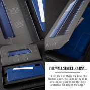 Mujjo Leather Wallet Case for iPhone 11 Pro Max (monaco blue) 4