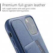 Mujjo Leather Wallet Case for iPhone 11 Pro Max (monaco blue) 5