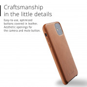 Mujjo Full Leather Case for iPhone 11 (brown) 1