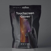 Mujjo All New Touchscreen Gloves Size S - качествени зимни ръкавици за тъч екрани (черен) 9