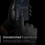 Mujjo All New Touchscreen Gloves Size S - качествени зимни ръкавици за тъч екрани (черен) 5