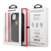 Ferrari On Track Carbon Effect Hard Case for iPhone 11 Pro Max (black) 6