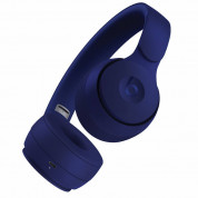 Beats Solo Pro Wireless Noise Cancelling Headphones - професионални безжични слушалки с микрофон и управление на звука (тъмносин) 3