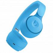 Beats Solo Pro Wireless Noise Cancelling Headphones - професионални безжични слушалки с микрофон и управление на звука (светлосин) 3