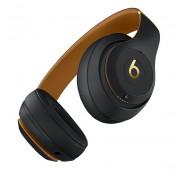 Beats Studio3 Wireless - професионални безжични слушалки с микрофон и управление на звука (черен-златист) 2
