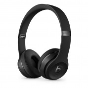 Beats Solo 3 Wireless On-Ear Headphones  - професионални безжични слушалки с микрофон и управление на звука (черен)