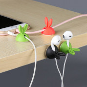 Rabbit Cable Organizer - органайзер за кабели 1 брой (бял) 2
