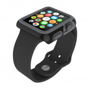 Speck CandyShell Fit Case - удароустойчив хибриден кейс за Apple Watch 42 mm (черен)