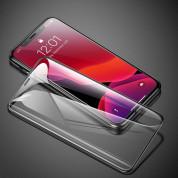 Baseus Full Screen Tempered Glass (0.30 mm) - калено стъклено защитно покритие за целия дисплей на iPhone 11 Pro Max, iPhone XS Max (прозрачен-черен) (2 броя) 4