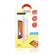 Torrii BodyGlass 2.5D Anti Blue Light Glass - калено стъклено защитно покритие за iPhone 11 Pro, iPhone XS, iPhone X (прозрачен)