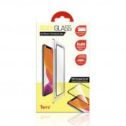 Torrii BodyGlass 3D Full Cover Glass - калено стъклено защитно покритие за целия дисплей на iPhone 11 Pro Max, iPhone XS Max (прозрачен-черен)