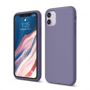 Elago Soft Silicone Case for iPhone 11 (lavender gray)