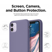 Elago Soft Silicone Case for iPhone 11 (lavender gray) 3