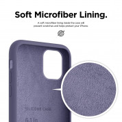 Elago Soft Silicone Case for iPhone 11 (lavender gray) 4