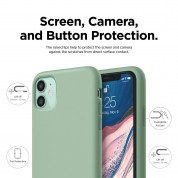 Elago Soft Silicone Case for iPhone 11 (pastel green) 2