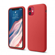 Elago Soft Silicone Case for iPhone 11 (red)