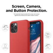 Elago Soft Silicone Case for iPhone 11 Pro Max (red) 5