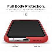 Elago Soft Silicone Case for iPhone 11 Pro Max (red) 4