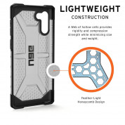 Urban Armor Gear Plasma Case for Samsung Galaxy Note 10 (Ash) 8