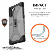 Urban Armor Gear Plasma Case for Samsung Galaxy Note 10 (Ash) 9