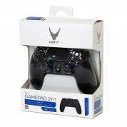Omega Gamepad Charge For PS4 And PC Bluetooth - безжичен геймпад за PS4 и PC с Bluetooth (черен) 3