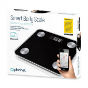 Platinet Bathroom Body Scale Smart Bluetooth (black)	 2