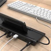 Adam Elements CASA Hub Pro USB-C - мултифункционален хъб за свързване на допълнителна периферия за Macbook и USB-C устройства (черен) 4