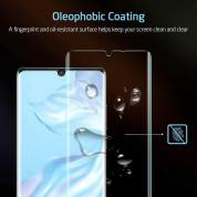 Nano Liquid UV Full Glue Tempered Glass - стъклено защитно покритие с течно лепило и UV лампа за дисплея на Huawei Mate 20 Pro (прозрачен) 6