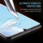 Nano Liquid UV Full Glue Tempered Glass - стъклено защитно покритие с течно лепило и UV лампа за дисплея на Huawei P30 Lite (прозрачен) 5