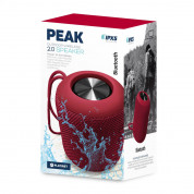 Platinet Speaker PMG13 Peak Bluetooth 10W IPX5 (red) 1