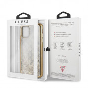 Guess Peony Liquid Glitter Case for iPhone 11 Pro Max (gold) 5